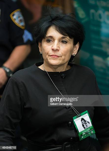 Joan Grande attends daughter Ariana Grande performance on NBC's 'Today' at Rockefeller Plaza on August 29 2014 in New York New York