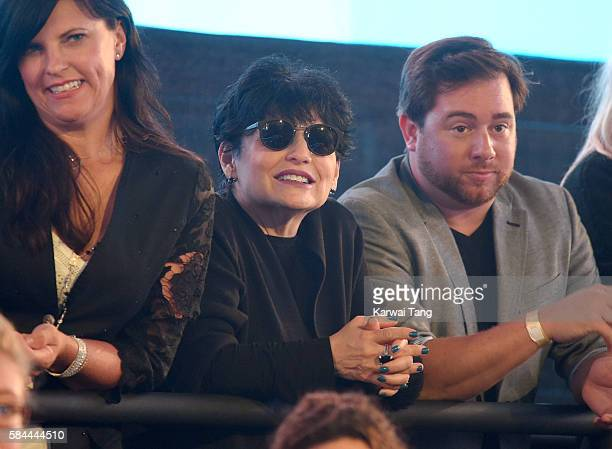Joan Grande attends the Celebrity Big Brother launch at Elstree Studios on July 28 2016 in Borehamwood England