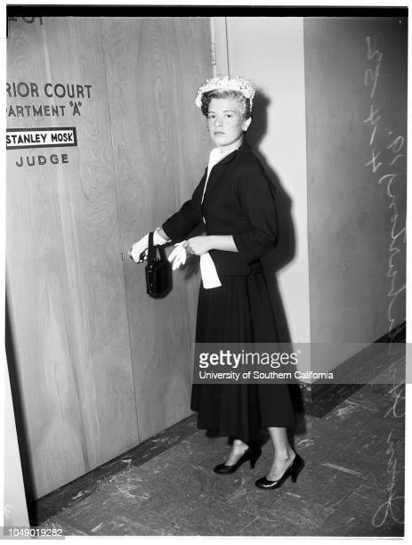 Joan Halliburton alimony 4 April 1952 Joan Halliburton 19 years