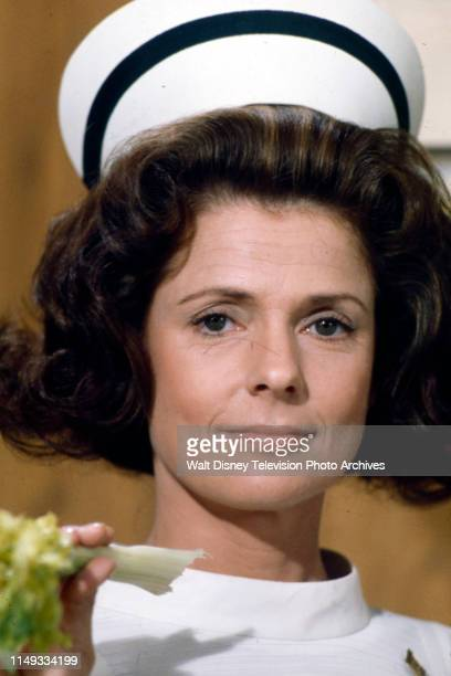 Joan Hotchkis appearing on the ABC tv series 'The New Temperatures Rising Show' episode 'The New Head Nurse'