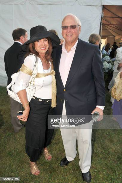 Joan Jedell and Howard Lorber attend 51st Annual SOUTHAMPTON HOSPITAL Summer Party at Wickapogue Road on August 1 2009 in Southampton NY