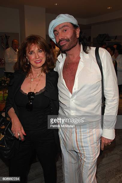 Joan Jedell and Rodolfo Valentin attend WINDTOSS debut by DENISE WOHL at Parker NYC on May 21 2007 in New York City