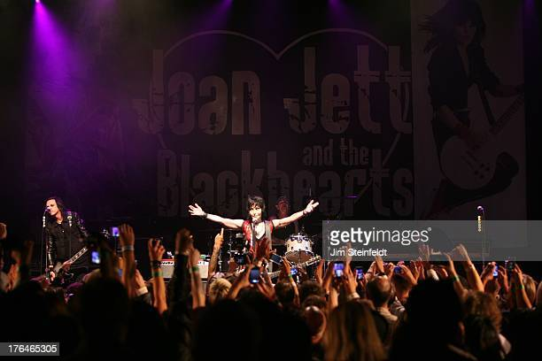 Joan Jett and the Blackhearts perform at the House of Blues in Los Angeles California on August 1 2013