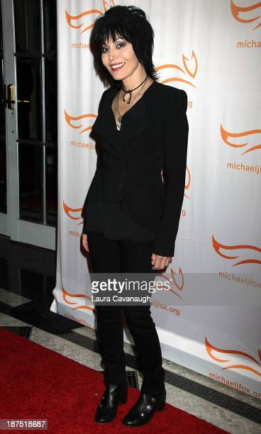 Joan Jett attends 2013 A Funny Thing Happened On The Way To Cure Parkinson's at The Waldorf=Astoria on November 9 2013 in New York City
