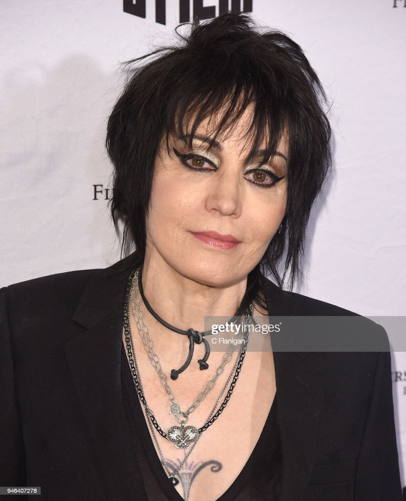Joan Jett attends the 'Bad Reputation' premiere during the 2018 San Francisco Film Festival at Castro Theatre on April 14, 2018 in San Francisco, California.
