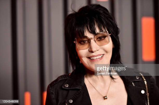 Joan Jett attends the Bvlgari B.zero1 Rock collection event at Duggal Greenhouse on February 06, 2020 in Brooklyn, New York.