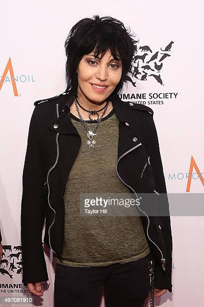 Joan Jett attends The Humane Society Gala at Cipriani 42nd Street on November 13 2015 in New York City