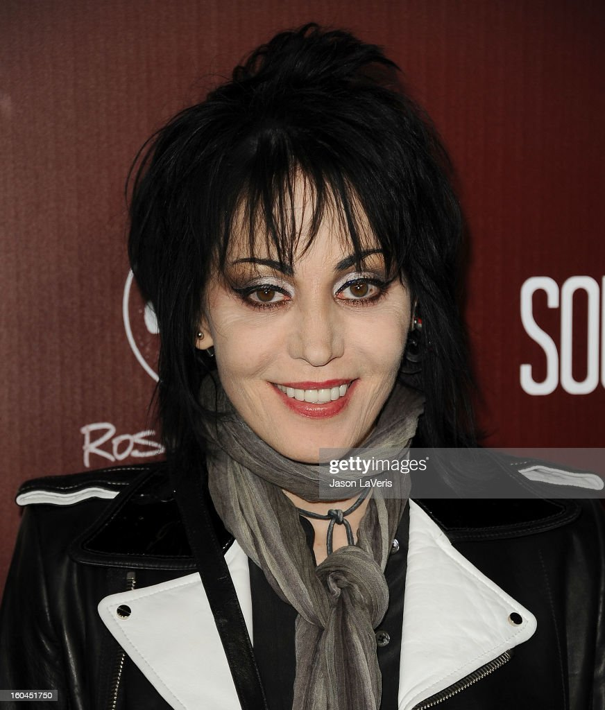 Joan Jett attends the premiere of 'Sound City' at ArcLight Cinemas Cinerama Dome on January 31, 2013 in Hollywood, California.