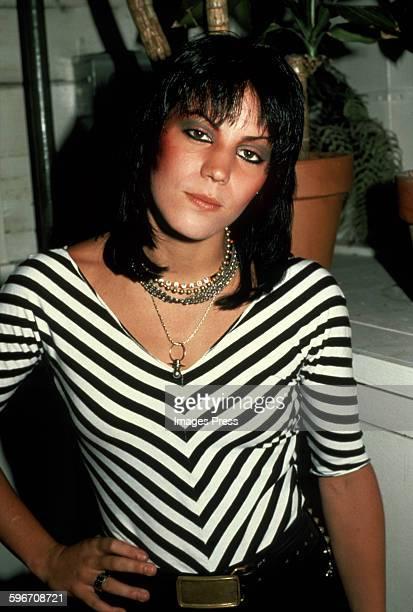Joan Jett circa 1981 in New York City.