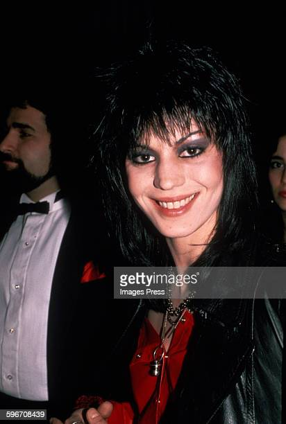Joan Jett circa 1984 in New York City