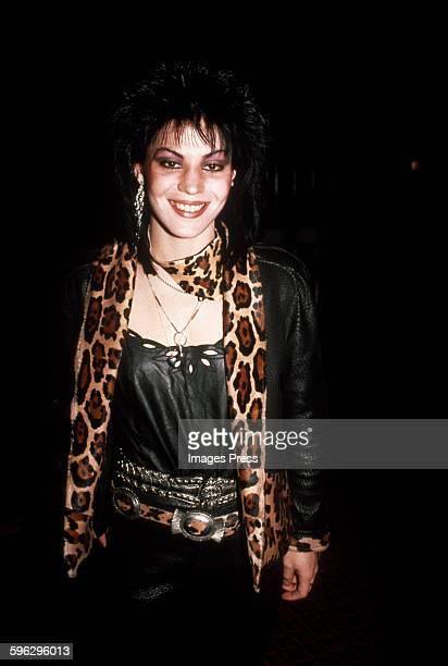 Joan Jett circa 1985 in New York City