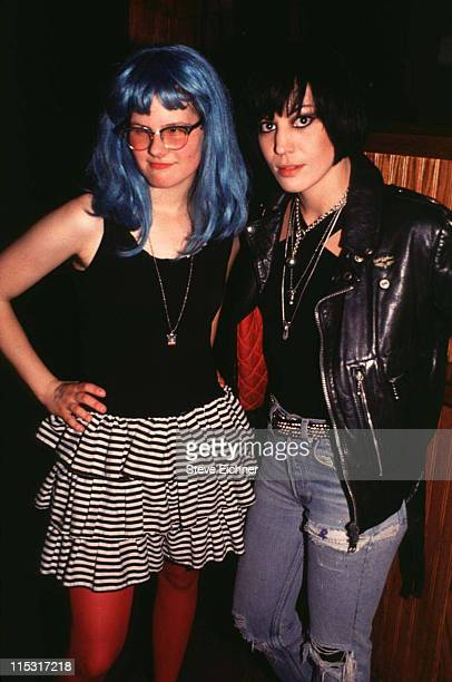 Joan Jett during Joan Jett at Wetlands 1992 at Wetlands in New York City New York United States