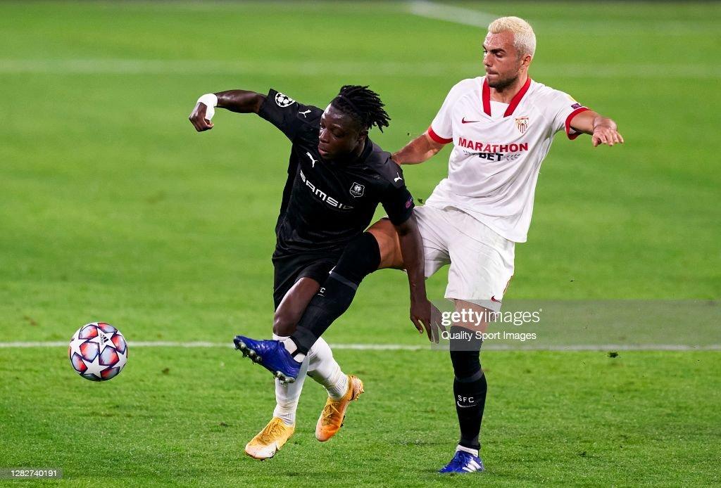 FC Sevilla v Stade Rennais: Group E - UEFA Champions League : News Photo