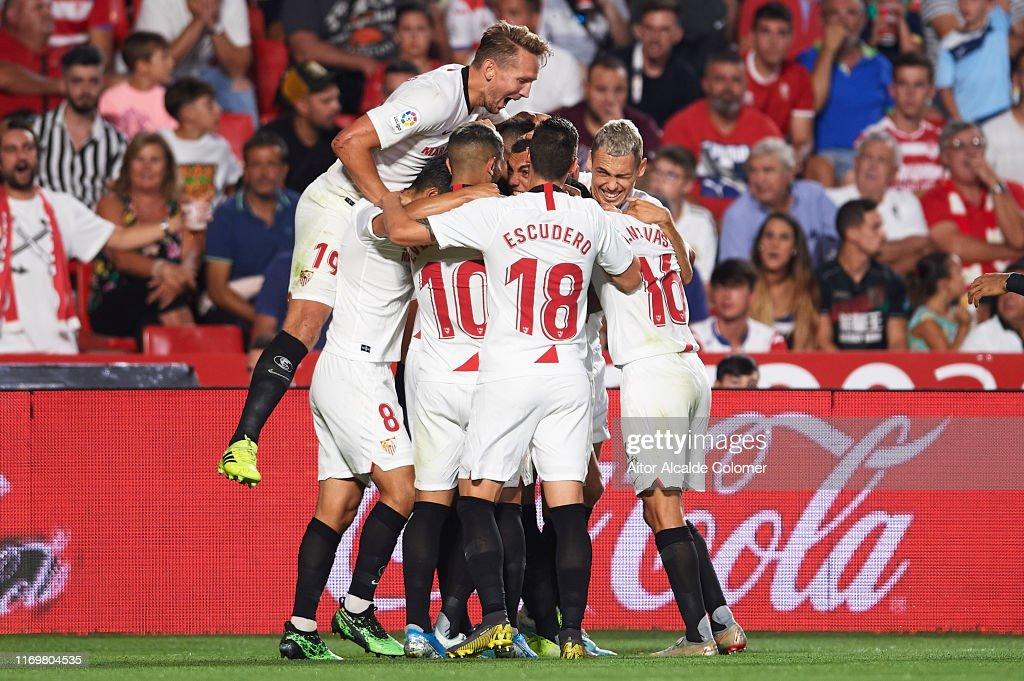 Granada CF v Sevilla FC  - La Liga : News Photo
