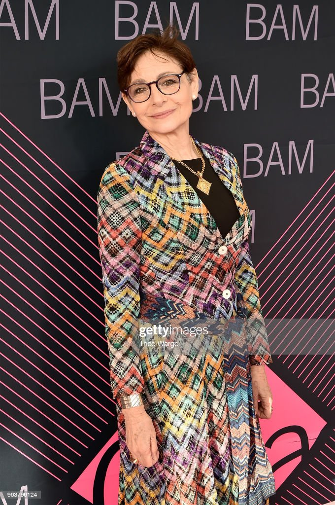 Joan Juliet Buck attends the BAM Gala 2018 honoring Darren Aronofsky, Jeremy Irons, and Nora Ann Wallace at Brooklyn Cruise Terminal on May 30, 2018 in New York City.