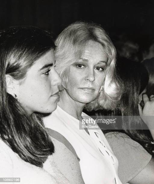 Joan Kennedy and Kara Kennedy during Ted Kennedy Jr's Graduation from St. Albans School at St. Albans in Washington DC, Maryland, United States.