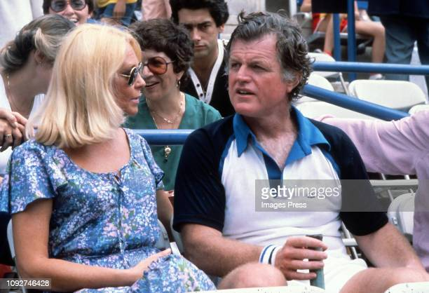Joan Kennedy and ted Kennedy circa 1979 in Forest Hills Queens