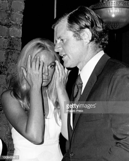 Joan Kennedy and Ted Kennedy circa 1979 in New York