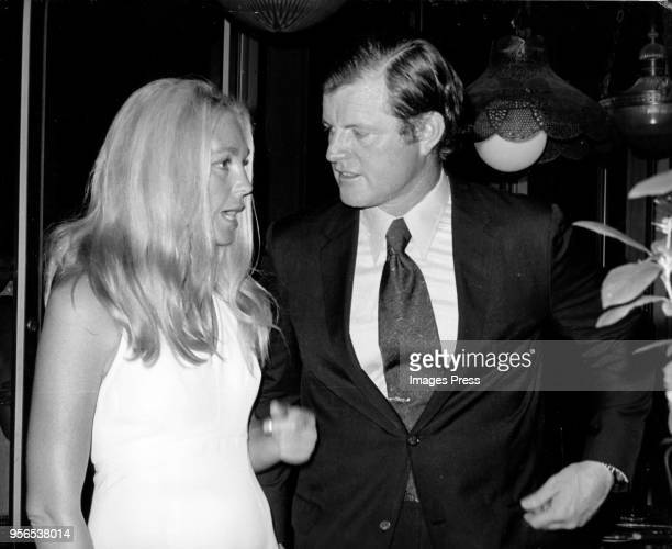 Joan Kennedy and Ted Kennedy photographed in New York City circa 1979