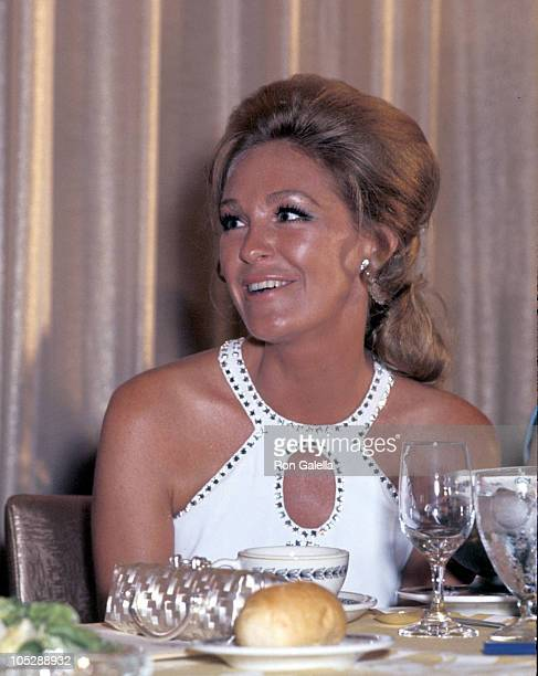 Joan Kennedy during 50th Anniversary Dinner For The Women's National Press Club at Shoreham Hotel in Washington D.C., United States.