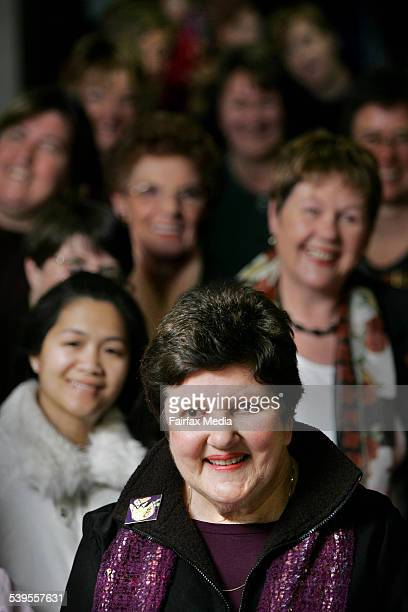 Joan Kirner will soon step down as National Convenor of EMILY's List an influencial Labour women's network and Lobby group THE SUNDAY AGE Picture by...