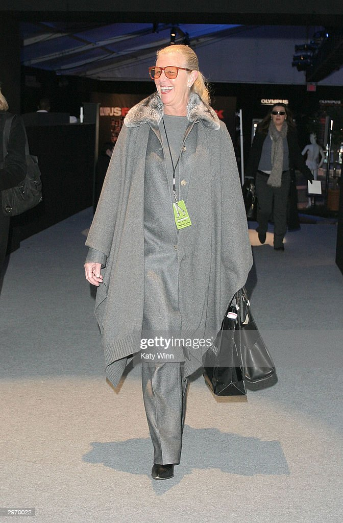 NYC: Olympus Fashion Week - Bryant Park : News Photo