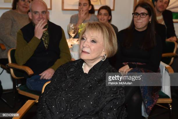 Joan Kron attends Joan Kron's 90th Birthday 'Take My NosePlease' Release Party at Michael's on January 7 2018 in New York City