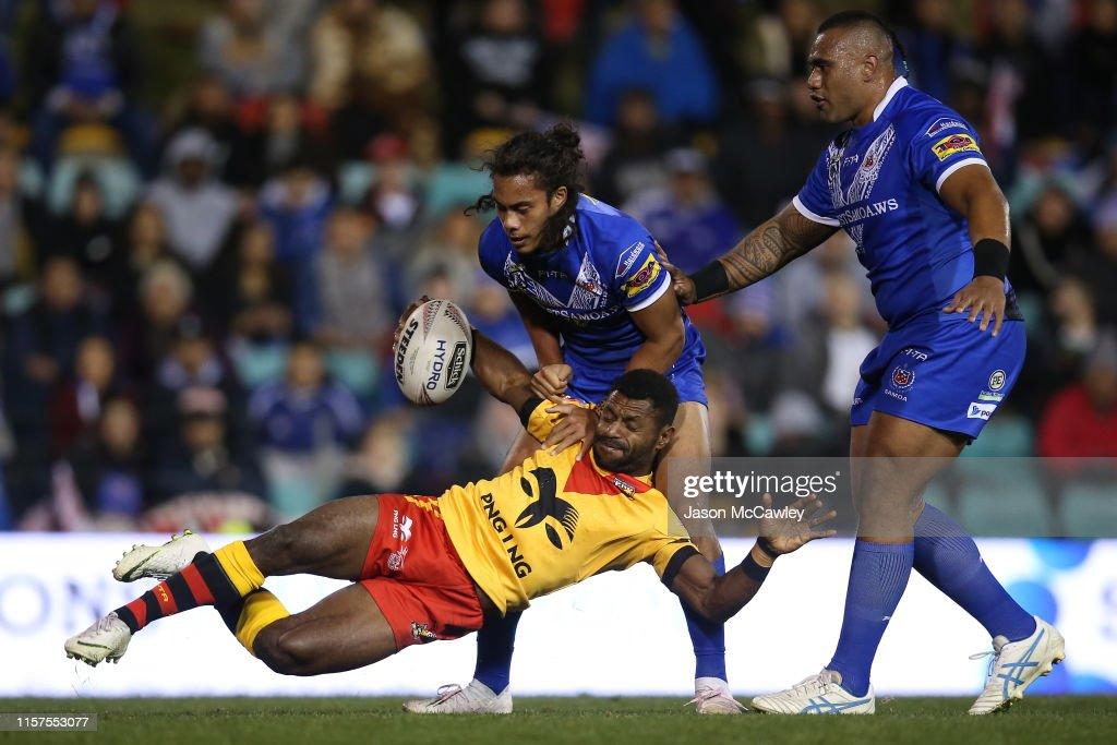 Samoa v Papua New Guinea - Pacific International Test Match : News Photo