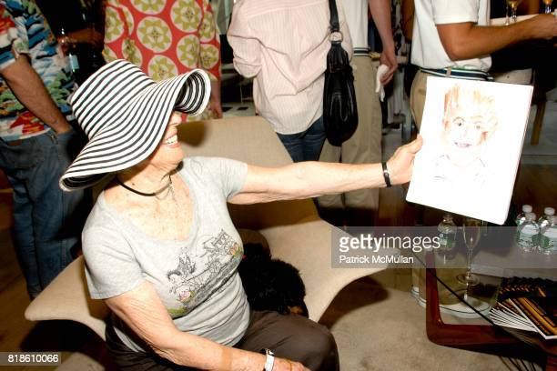 Joan Leibowitz attends Elie Tahari hosts opening party for EQUUS with Alec Baldwin and Cast at Elie Tahari on June 18 2010 in East Hampton New York
