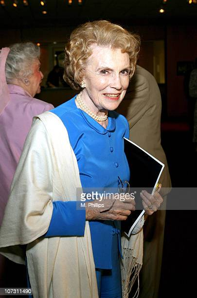 Joan Leslie during Academy of Motion Picture Arts and Science Presents Tribute to Olivia de Havilland at Academy of Motion Picture Arts and Sciences...