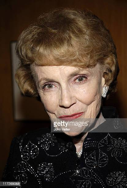 Joan Leslie during The Greta Garbo Centennial Hosted by Academy of Motion Picture Arts and Sciences at Academy Of Motion Picture Arts And Sciences in...