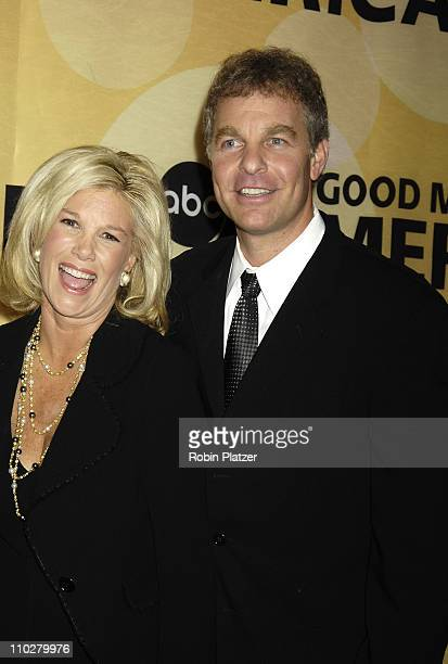 Joan Lunden and husband Jeff Konigsberg during Good Morning America 30th Anniversary Celebration at Avery Fisher Hall in New York City New York...