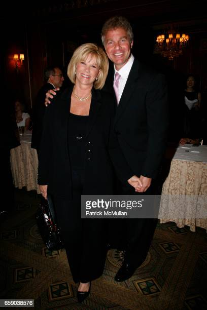 Joan Lunden and Jeff Konigsberg attend 2009 commit to WIN annual benefit dinner honoring PAMELA FIORI at The Pierre on April 28 2009 in New York City