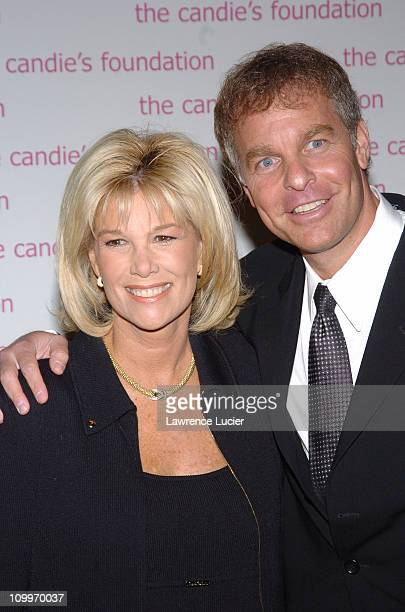 Joan Lunden and Jeff Konigsberg during The Event To Prevent A Benefit for the Candie's Foundation for the Prevention of Teenage Pregnancy at Gotham...