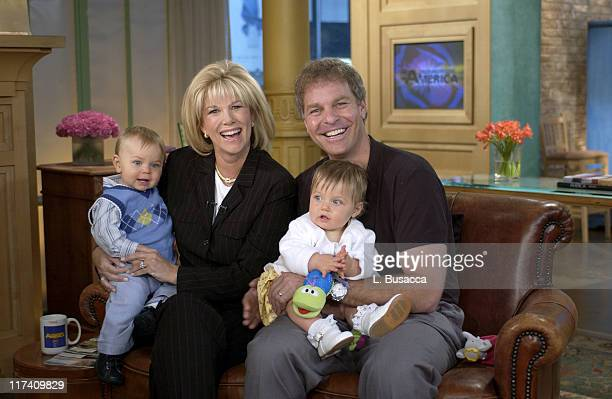 Joan Lunden and Jeff Konigsberg with their Children Max and Kate Konigsberg