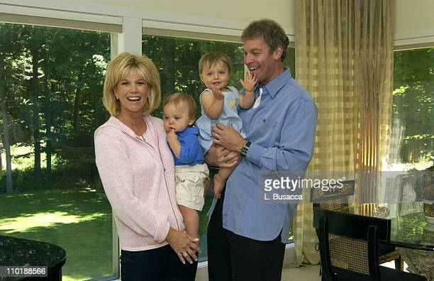 Joan Lunden and Jeff Konigsberg with Twins Max and Kate Konigsberg