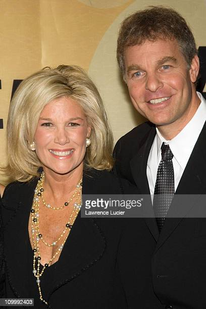 Joan Lunden and Jeffrey Konigsberg during Good Morning America Celebrates Its 30th Anniversary at Avery Fisher Hall in New York City New York United...
