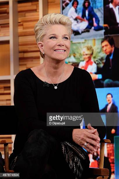 Joan Lunden attends Good Morning America's 40th Anniversary at GMA Studios on November 19 2015 in New York City