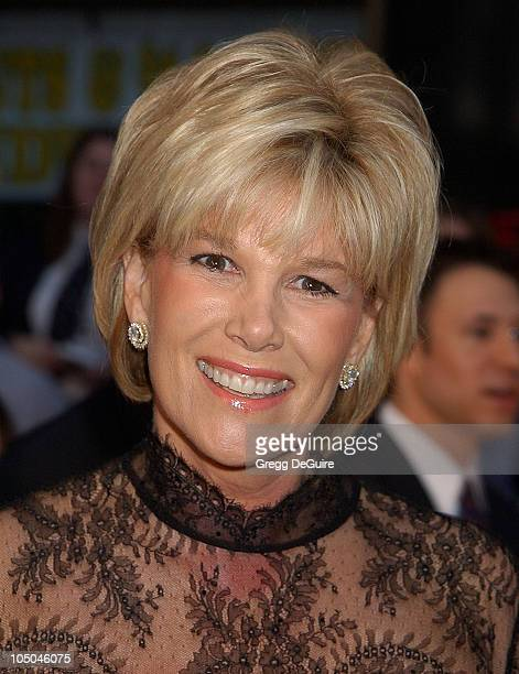 Joan Lunden during ABC's 50th Anniversary Celebration at The Pantages Theater in Hollywood California United States