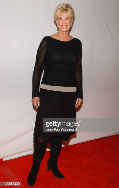 Joan Lunden during CBS and UPN 2005 TCA Party Arrivals at Quixote Studios in Los Angeles California United States