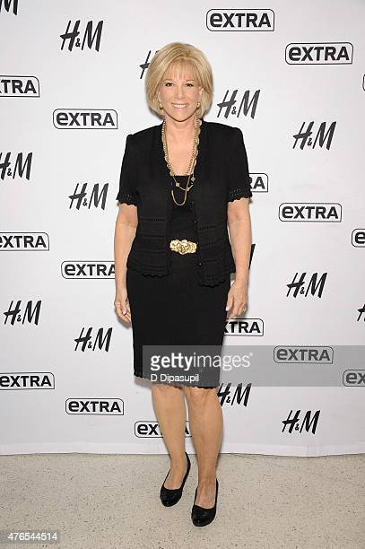 Joan Lunden visits Extra at their New York studios at HM in Times Square on June 10 2015 in New York City