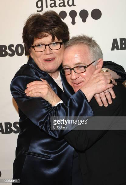 Joan M Garry GLAAD Executive Director and Leslie Jordan