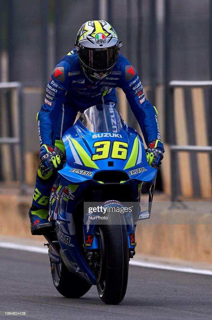 MotoGP Tests In Valencia News Photo