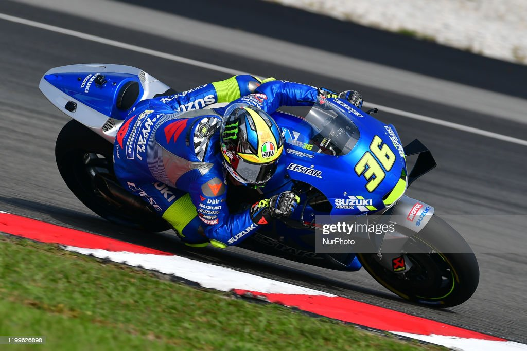 Joan Mir Of Team Suzuki Ecstar During Day Three Motogp Official Test News Photo Getty Images