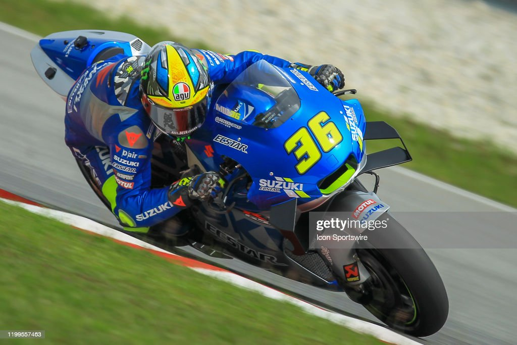 Joan Mir Of Team Suzuki Ecstar In Action During The Second Day Of The News Photo Getty Images