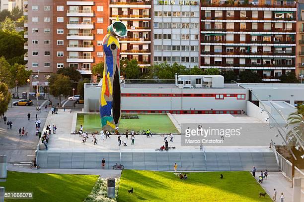 Joan Mir˜ park. Barcelona. Spain. Europe.