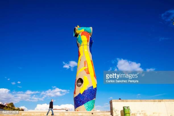 Joan Miro art in Barcelona