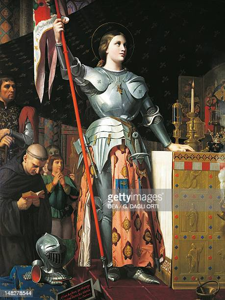 Joan of Arc at the Coronation of Charles VII in Reims Cathedral by Jean Auguste Dominique Ingres Paris Musée Du Louvre