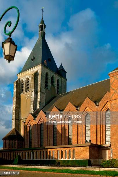 Joan of Arc church, Gien, Loiret, France