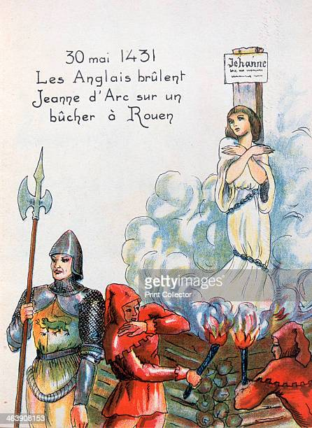 Joan of Arc executed by the English 30 May 1431 Claiming divine inspiration Joan of Arc persuaded Charles VII to declare himself King of France Joan...